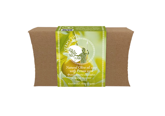 Olive oil soap with lemon scent